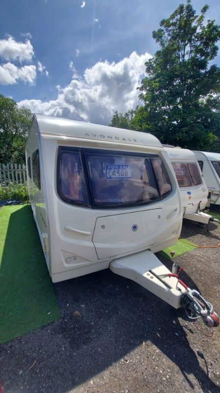 *SOLD*SOLD*avondale argente 550-4 Caravan Photo