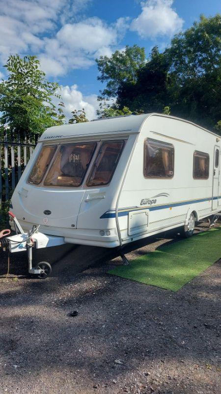 *SOLD* Sterling europa 540 Caravan Photo