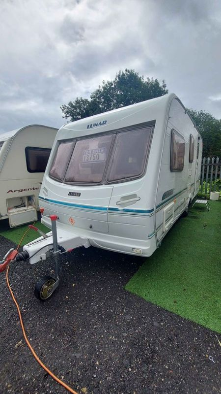 *SOLD*SOLD*Lunar clubman 530-4L Caravan Photo
