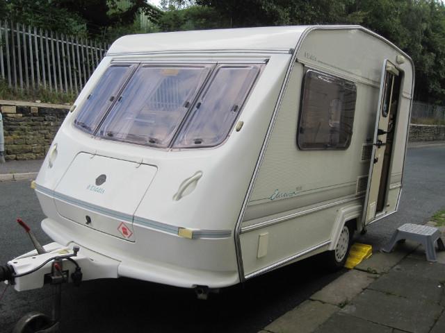 Elddis Elusion 370/2 Caravan Photo