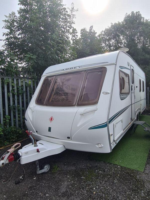 Abbey Spectrum 535 Caravan Photo