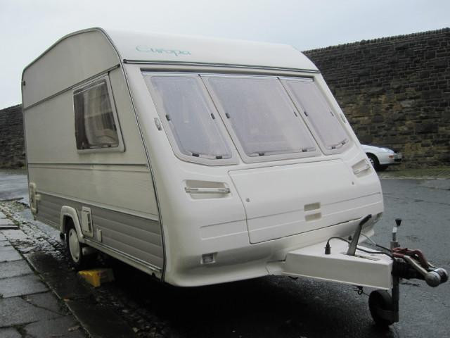 Sterling Europa Classic Caravan Photo