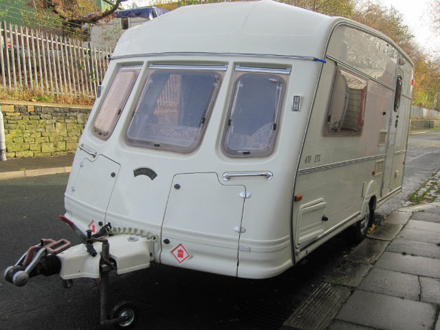 Vanroyce Classic 470 ETL Caravan Photo