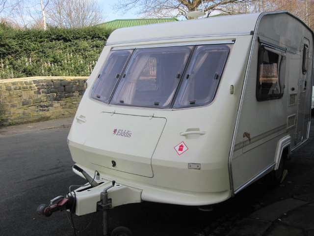 Elddis Wisp Ovation Caravan Photo