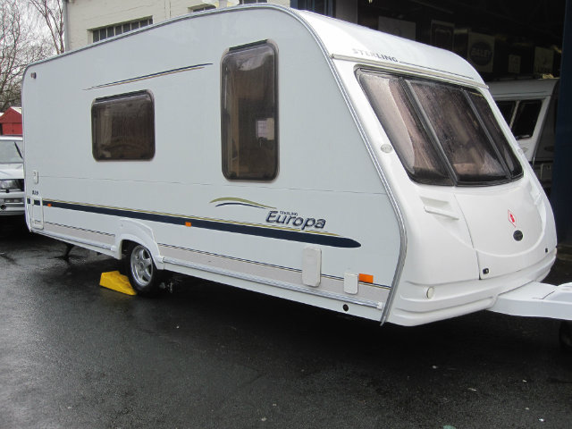 Sterling Europa 525 Caravan Photo