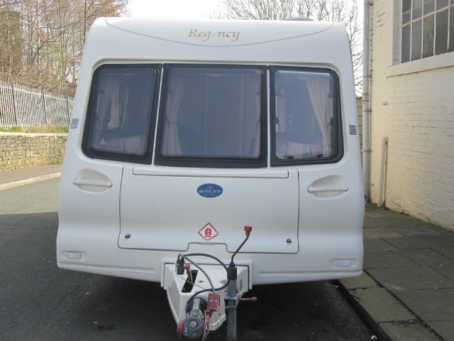 Bailey Regency 472 Caravan Photo