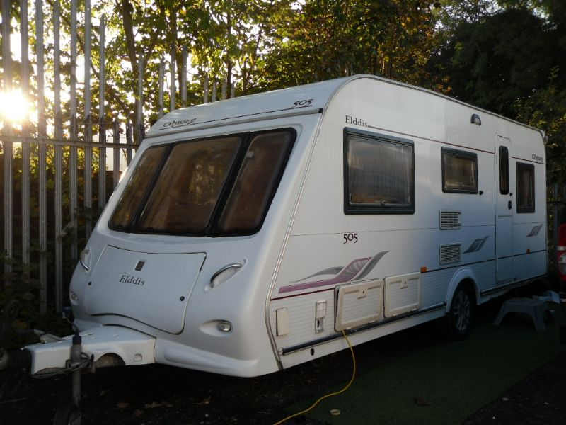 Elddis Odyssey 505 Caravan Photo