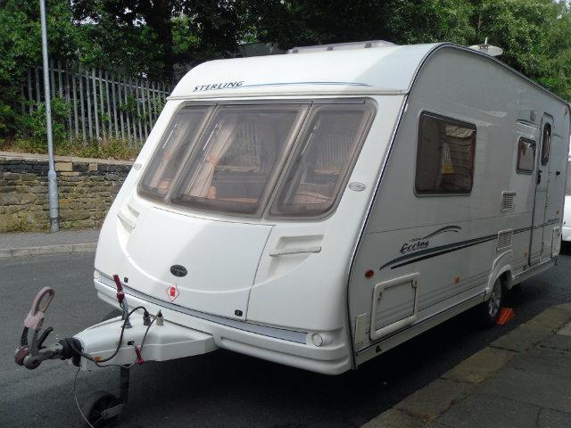 Sterling Eccles Moonstone Caravan Photo