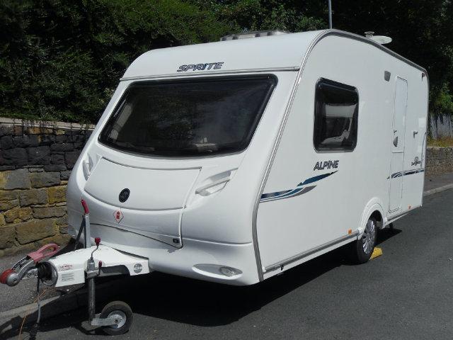 Sprite Alpine 2 Caravan Photo