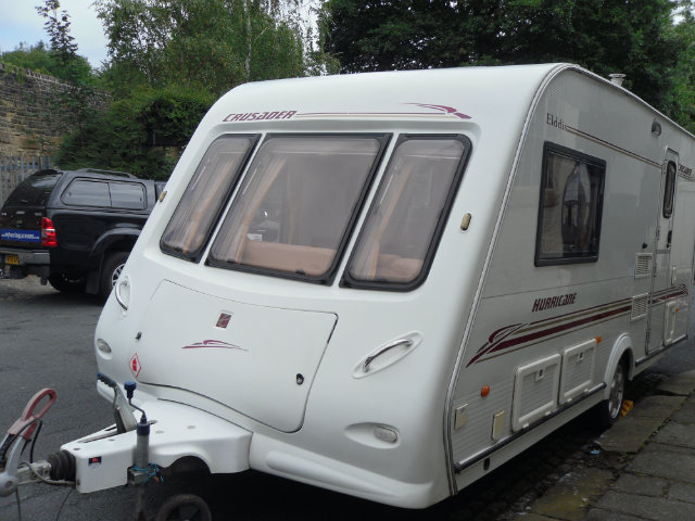 Elddis Hurricane Crusader Caravan Photo