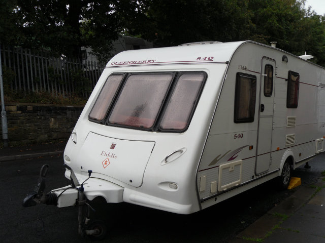 Elddis Queensferry 540 Caravan Photo