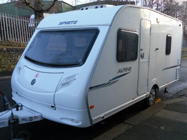 Sprite  Alpine 4 Caravan Photo