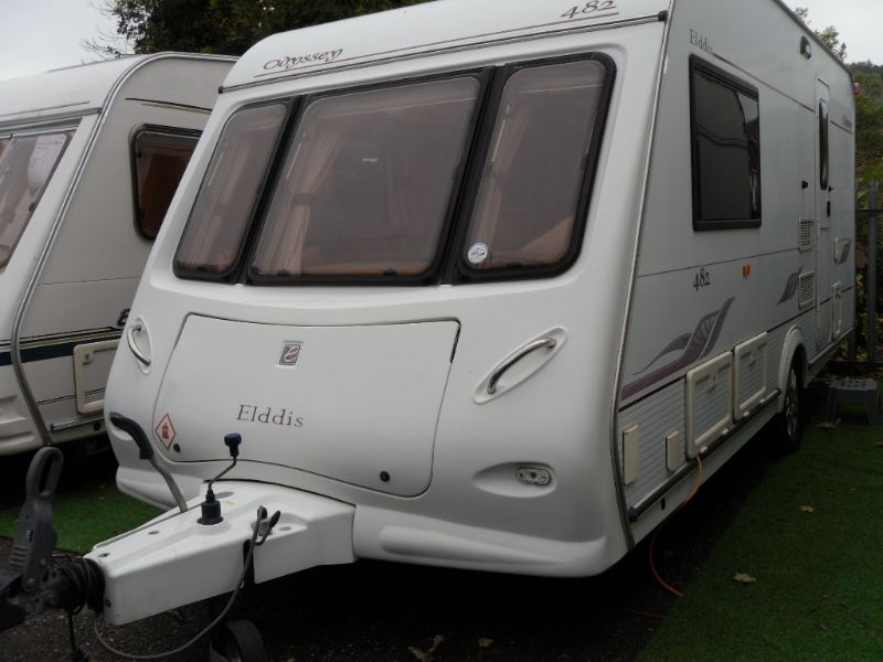 Elddis Odyssey 482 Caravan Photo