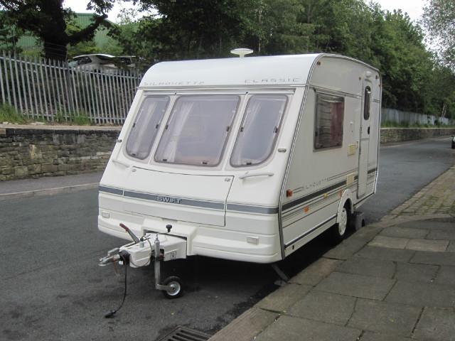 Swift Silouhette Classic Caravan Photo