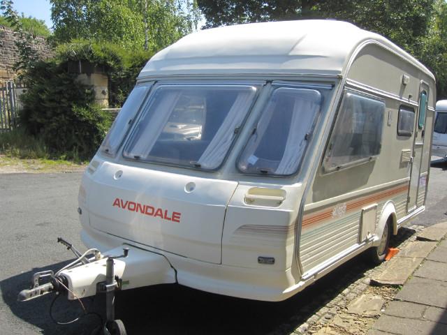Avondale Mayfly  Caravan Photo