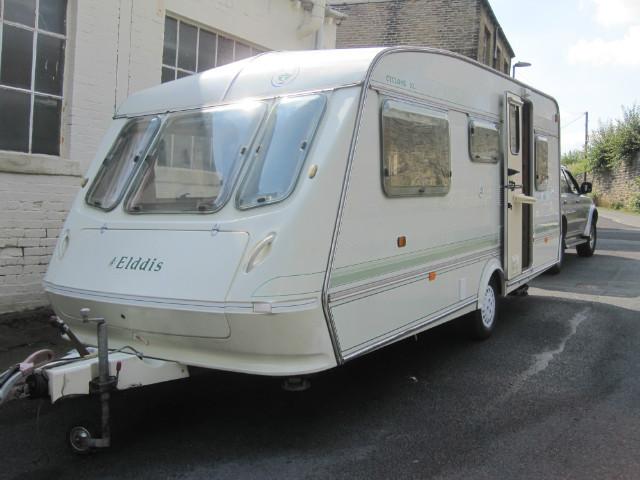 Elddis Cyclone XL Caravan Photo